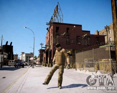Niko - Stalin para GTA 4 adelante de pantalla