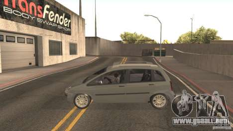 Fiat Idea HLX para la visión correcta GTA San Andreas