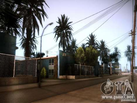 New trees HD para GTA San Andreas sucesivamente de pantalla