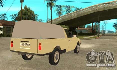 AZLK 2335 para la visión correcta GTA San Andreas