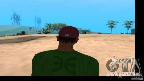 Gorra de béisbol con el logo de la banda HIM para GTA San Andreas quinta pantalla