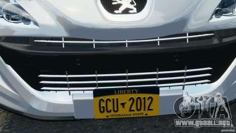 Peugeot 308 GTi 2011 v1.1 para GTA motor 4