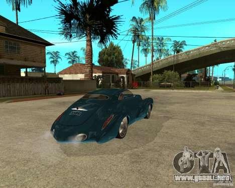Holden Efijy para GTA San Andreas vista posterior izquierda