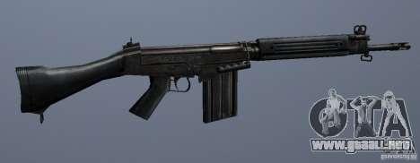 FN FAL para GTA San Andreas tercera pantalla