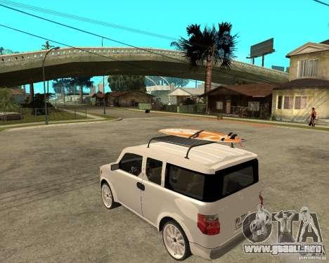 Honda Element para GTA San Andreas left