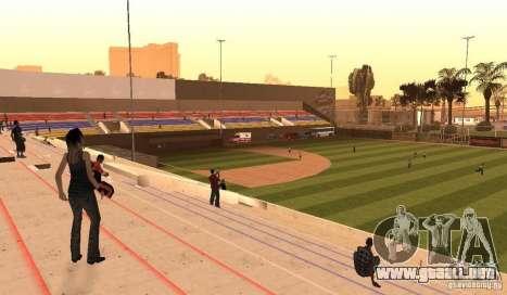Campo de béisbol animado para GTA San Andreas segunda pantalla