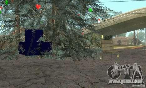 Árbol de Navidad para GTA San Andreas tercera pantalla