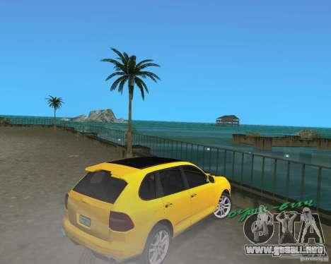 2009 Porsche Cayenne Turbo para GTA Vice City visión correcta