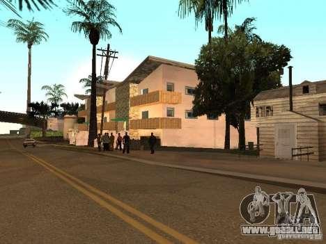 Grand Street para GTA San Andreas quinta pantalla