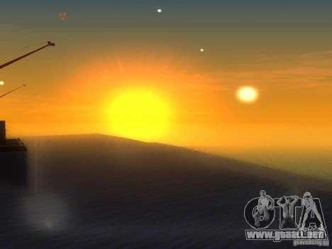 Agua HQ para GTA San Andreas tercera pantalla