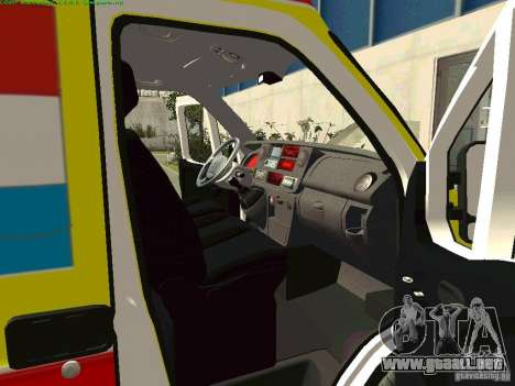 Renault Master rápido Samara para la visión correcta GTA San Andreas