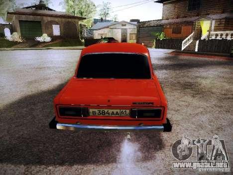 VAZ 2106 Fanta para la visión correcta GTA San Andreas