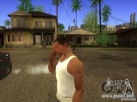 Facepalm Mod para GTA San Andreas segunda pantalla