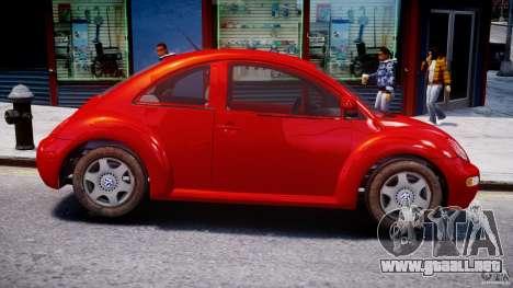 Volkswagen New Beetle 2003 para GTA 4 vista hacia atrás
