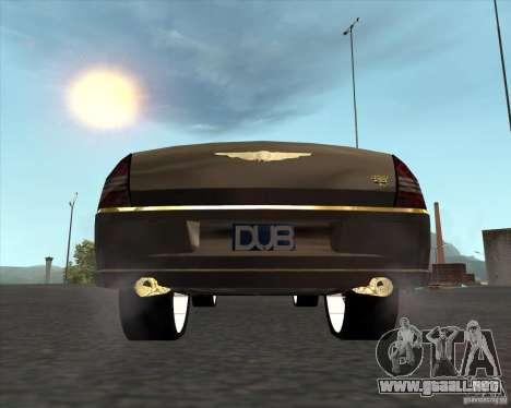 Chrysler 300C dub edition para GTA San Andreas vista posterior izquierda