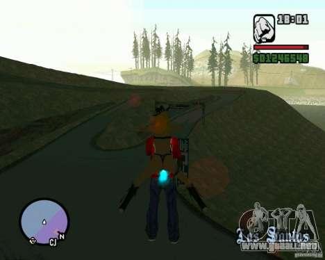 Ebisu Touge para GTA San Andreas tercera pantalla