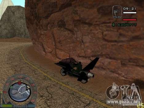 Motocicleta de la ciudad de Alien para GTA San Andreas left