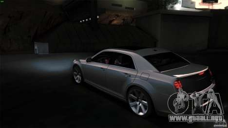 Chrysler 300C V8 Hemi Sedan 2011 para la visión correcta GTA San Andreas