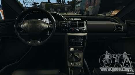 Ford Escort RS Cosworth para GTA 4 vista hacia atrás