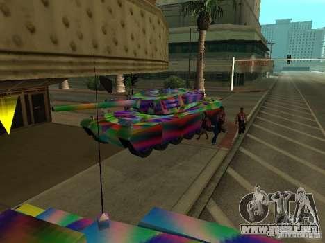 Un tanque de color alegre para visión interna GTA San Andreas