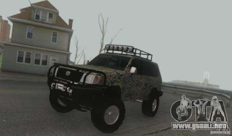 Toyota Land Cruiser 100 Off Road para GTA San Andreas