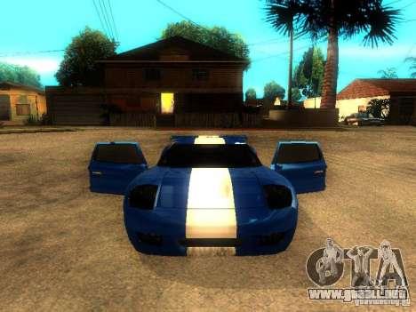 Bullet GT Drift para la visión correcta GTA San Andreas