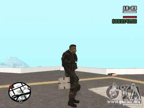 Los explosivos de cod mw2 para GTA San Andreas segunda pantalla