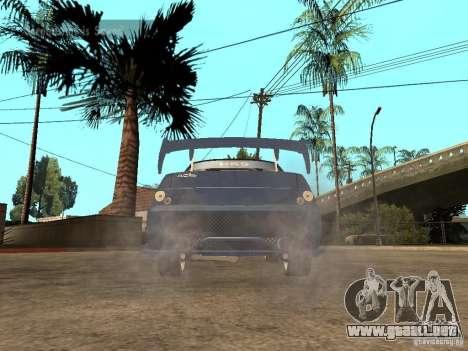 LADA 21103 calle Edition para GTA San Andreas vista posterior izquierda