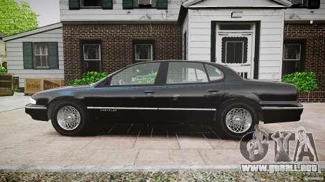 Chrysler New Yorker LHS 1994 para GTA 4 vista hacia atrás