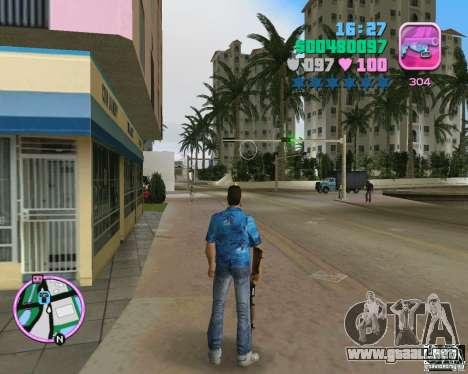 La piel de la versión BETA para GTA Vice City segunda pantalla