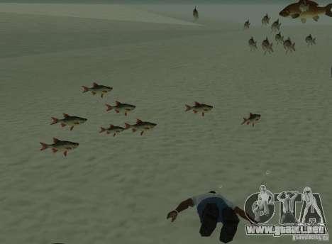 Nuevos peces para GTA San Andreas