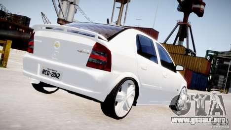 Chevrolet Astra Advantage 2009 para GTA 4 visión correcta