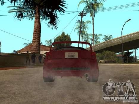Toyota Celica Veilside para GTA San Andreas vista posterior izquierda