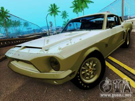 Shelby GT 500 KR para GTA San Andreas
