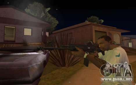 AK-12 para GTA San Andreas tercera pantalla