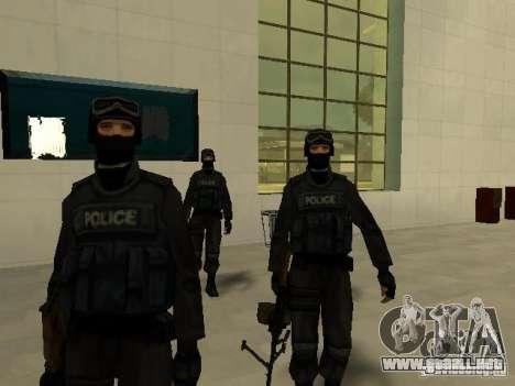 Ayuda Swat para GTA San Andreas tercera pantalla