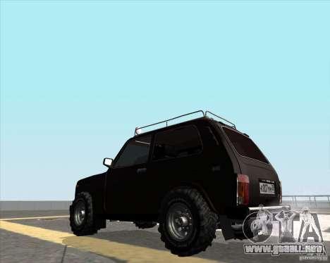 VAZ 21213 Offroad para GTA San Andreas left