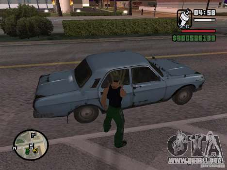 Repintado del actuador para GTA San Andreas séptima pantalla