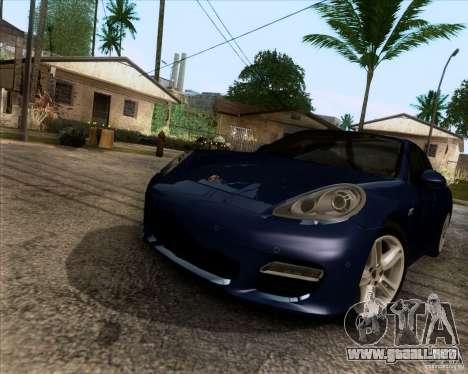 Porsche Panamera Turbo 2010 Final para la visión correcta GTA San Andreas