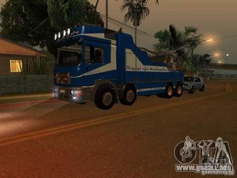 MAN F2000 (con guión de CLEO) para GTA San Andreas