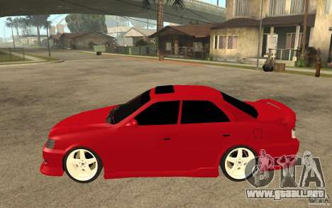 Toyota Chaser Tourer V JZX100 1999 para GTA San Andreas left