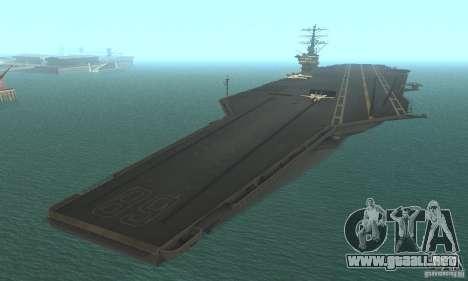 CVN-68 Nimitz para GTA San Andreas