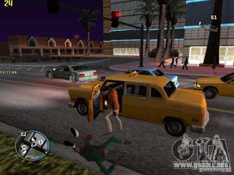 GTA IV  San andreas BETA para GTA San Andreas quinta pantalla
