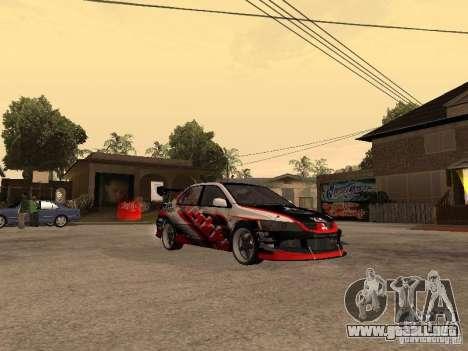 Mitsubishi Lancer Evolution 8 GReddy para la visión correcta GTA San Andreas