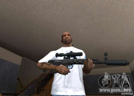 Weapon Pack by viter para GTA San Andreas novena de pantalla