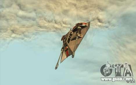 T-47 Snowspeeder para la visión correcta GTA San Andreas