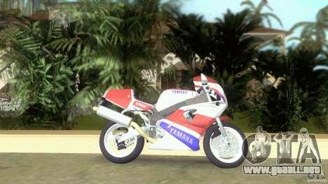 Yamaha FZR 750 original plain para GTA Vice City left
