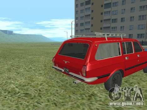 Volga GAZ-24 02 para la visión correcta GTA San Andreas