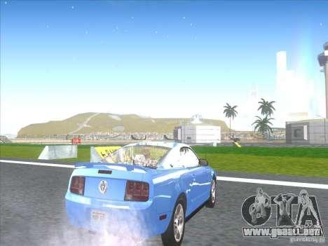 Ford Mustang Pony Edition para la visión correcta GTA San Andreas