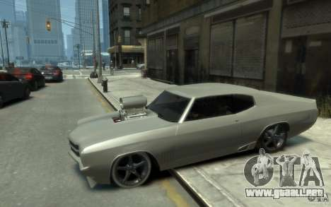 Chevrolet Chevelle SS Tuning 1970 para GTA 4 left